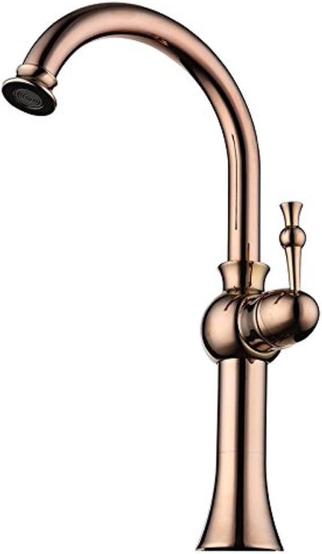 360 ° drehbaren Wasserhahn Retro Wasserhahn Kupfer kann gedreht werden Wasserhahn einzigen heien und kalten Mischen hochwertigen Wasserhahn