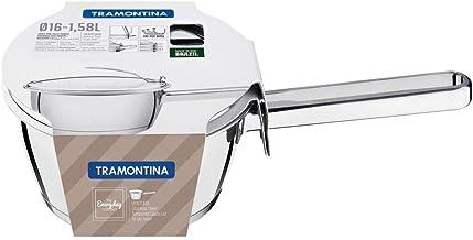 Tramontina Stainless Steel 16cm Sauce Pan with Triple-ply Bottom Ventura
