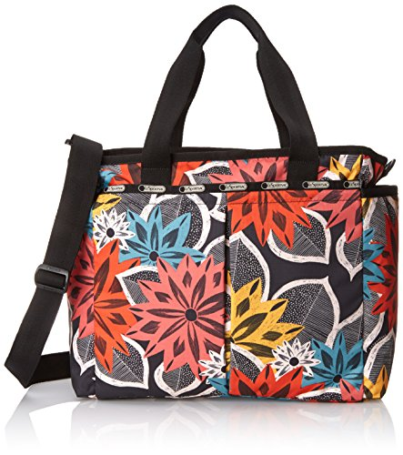 LeSportsac Ryan Baby Diaper Bag Carry On, Caraway Floral, One Size