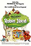 Perfect A4-Posterdruck mit Disney-Robin Hood-Motiv
