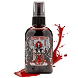 Bloody Mary Fake Blood Makeup Spray - for Theater and Costume or Halloween Zombie, Vampire and Monster Dress Up (Large - 4 oz)
