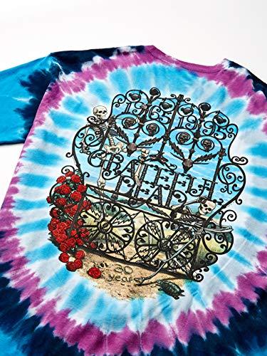 Liquid Blue Men's Grateful Dead 30th Anniversary Short-Sleeve T-Shirt