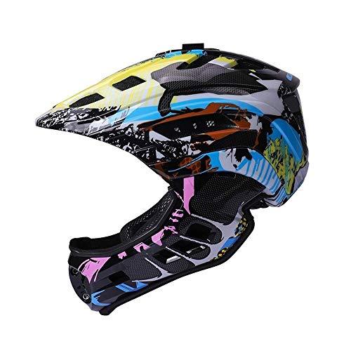 8bayfa veiligheidsbescherming kinderhelm afneembare kin, mountainbike dnd racefiets licht fietshelm, kan worden uitgerust met een sport camera of koplampen Unisex