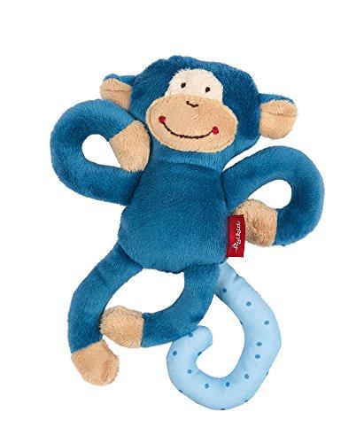 sigikid, Jungen, Aktiv-Anhänger mit Rassel, Affe, Blau, 42169