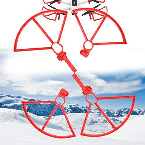 Anello di protezione RC Drone Protezione dell elica Accessori per droni per Hubsan Zino H117S Drone con supporto(red)