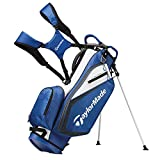 Best Golf Stand Bags - TaylorMade 2019 Golf Select Stand Bag, Blue/White Review