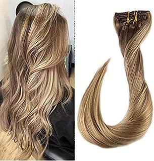 Best dip dye clip in human hair extensions Reviews