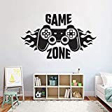 Kinder Schlafzimmer Wandtattoo Home Decoratetion Game Zone Gamer Kunst...