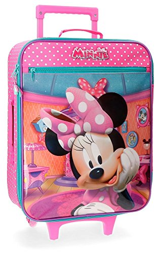 Maleta infantil de Disney 25 litros Rosa