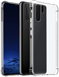 Case For Huawei P30 Pro Protective Transparent clear Case Shockproof Back cover, clear