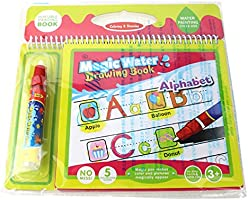 Rangebow Drawing Doodle Book and 2 Magic Pen for 3 Years plus (Alphabet 2323-1)