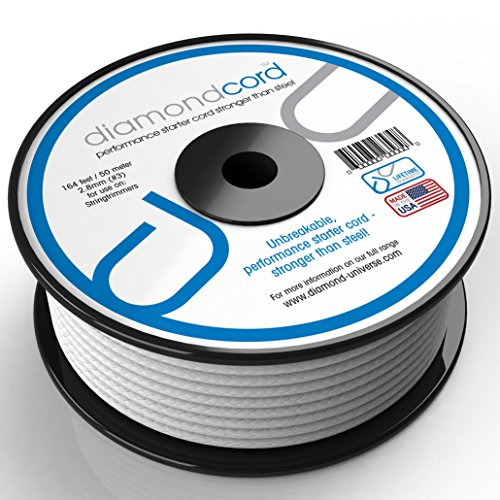 diamondcord 164 Feet by 2.8mm Unbreakable Gas Engine Pull Starter Recoil Replacement Cord Spool