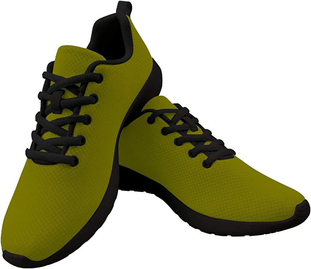 Army Green Women Athletic Walking Shoes Casual Travel Work Sport Running Shoes Fashion Sneakers