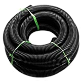 Yagoer 1pc Interior 32mm / 39mm Exterior Aspirador de Fuelle tubería Flexible en Forma for Midea/Haier/LG/Panasonic/Hitachi/sostenido/Toshiba Vacuum Cleaner Parte (Color : Black)