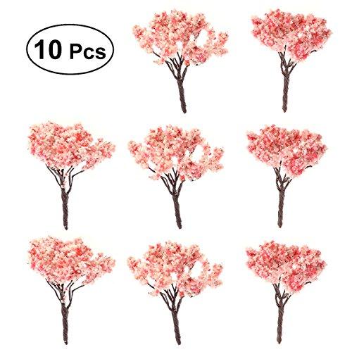 BESTOMZ 10pcs Jardín de hadas en miniatura de la planta del árbol...