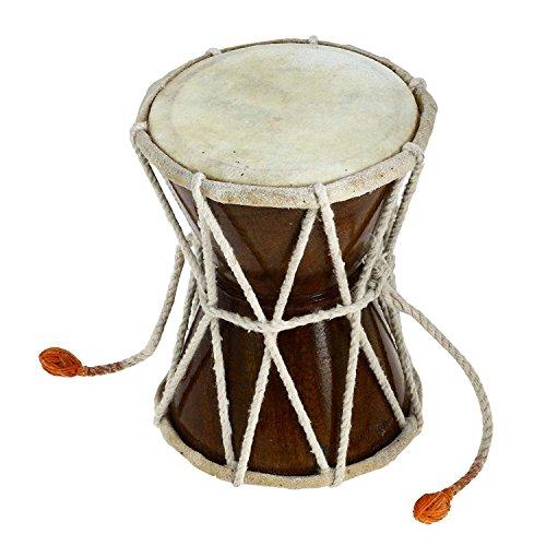 Damaru Indische Folk Percussion Musikalische Instrument 12,7 Cm