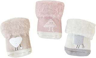 ANIMQUE Beb/è Calze Invernali Spesso Caldo 0-36 Mesi Neonati Bambini Bambine Calzettoni Calze di Cotone Spesse Met/à Polpaccio Animale Carino 3 Paia