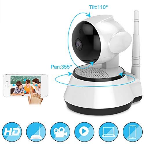 SAFE Caméras de Surveillance WiFi 1080P HD dôme avec Vision Nocturne Infrarouge pour bébé/Fumée/Pet/Nanny Monitor