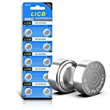 LiCB 10 unidades LR41 AG3 392 384 batería, larga duración y a prueba de fugas, alta capacidad 1.5 V LR41 pilas de botón y moneda para termómetro digital ornamento audífono reloj LED