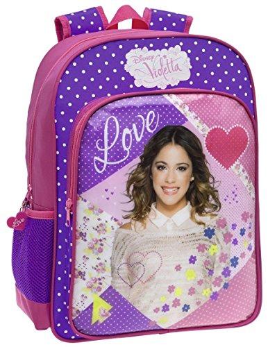 Zaino Scuola Adattabile Disney Violetta Love