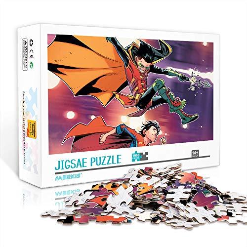 DUANGONGZI Rompecabezas para Adultos de 300 Piezas Superboy Relax Rompecabezas para aliviar el estrés Juegos de Rompecabezas 38x26cm