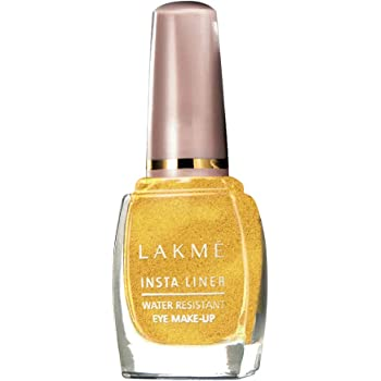 Lakme Insta Eye Liner, Golden, 9 ml