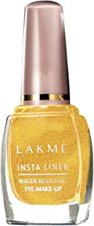 Lakme Insta Eye Liner, Golden, 9 ml