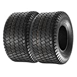 MaxAuto Set of 2 18x9.50-8 18/9.50-8 Lawn & Garden Mower Tractor Turf Tires 4PR