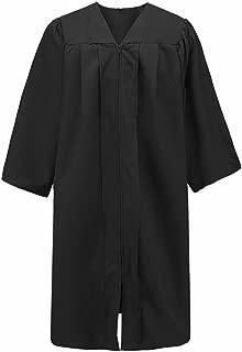 Unisex Premium Matte Graduation Gown Only, 13 Colors