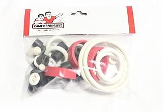 Game Room Guys Data East Tommy Pinball White Rubber Ring Kit