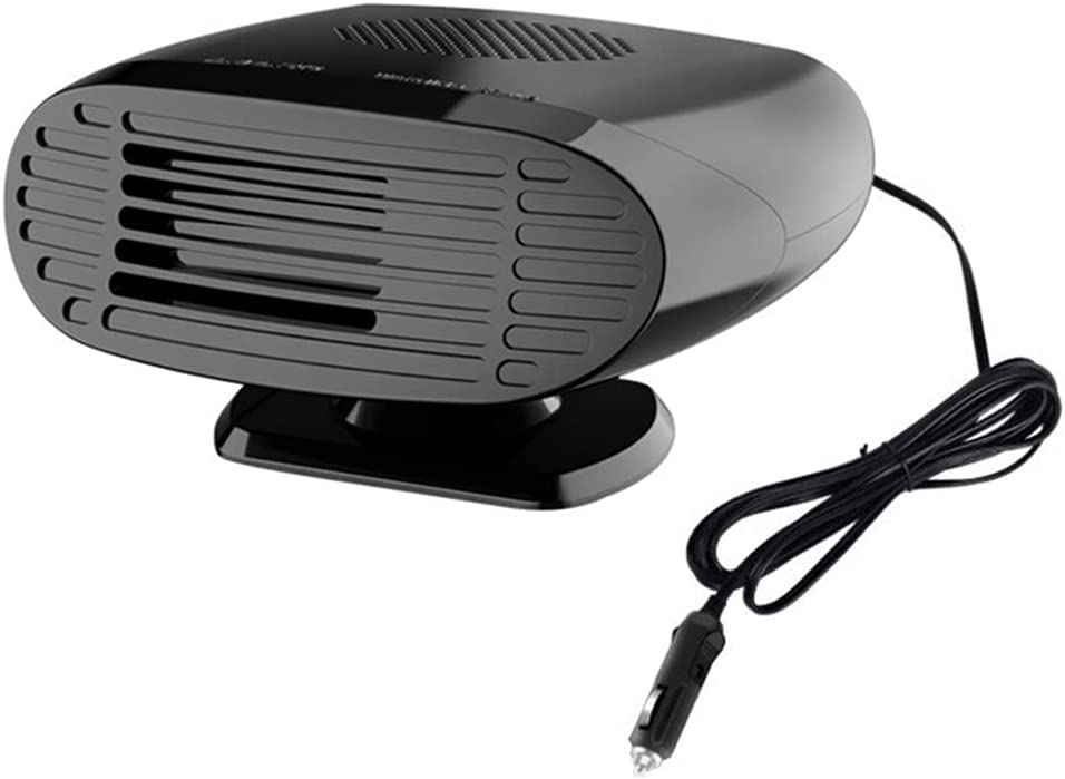 Riloer Portable car Fan Year-end gift At the price 12V Heater Rotatable 150W Co 360°