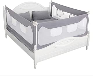 90CM Height Adjustable Folding Kids Safety Bed Rail/BedRail Cot Guard Protecte (150X90CM)