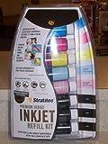 Stratitec Premium Series Inkjet Refill Kit