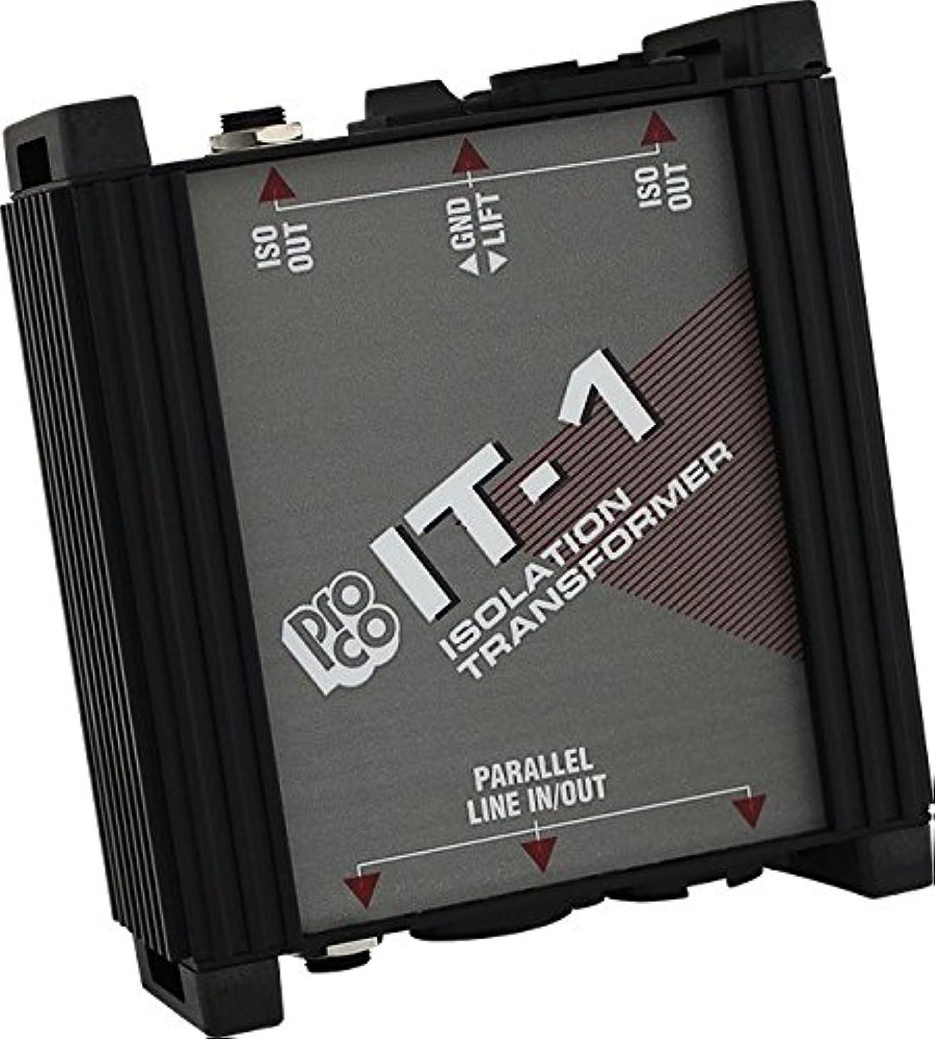 Pro Co Sound IT1 Isolation Transformer Unit