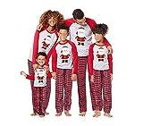 Conjunto de Pijamas Familiares de Navidad, Trajes Navideños para Mujeres Hombres Niño, Ropa Invierno Sudadera Chándal Suéter Niños de Navidad-Mamá