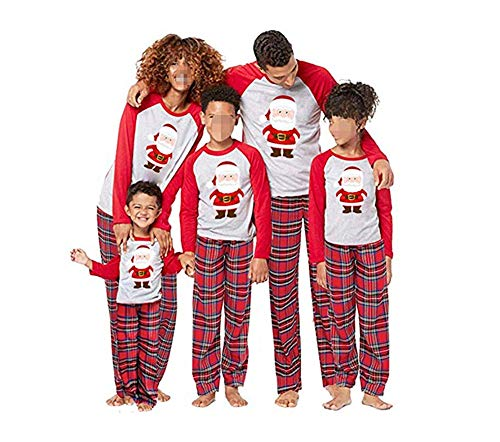 Conjunto de Pijamas Familiares de Navidad, Trajes Navideños para Mujeres Hombres Niño, Ropa Invierno Sudadera Chándal Suéter Niños de Navidad-Niño