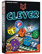 999 Games - Clever Dobbelspel - vanaf 8 jaar - Genomineerd voor speelgoed van het jaar 2019, de Nederlandse spellenprijs 2019 familie, - voor 1 tot 4 spelers - 999-CLE01, meerkleurig
