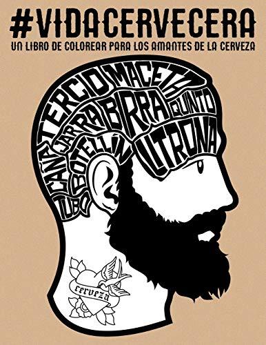 Vida cervecera: un libro de colorear para los amantes de la cerveza