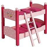 Bayer Chic 2000 513 90 Puppen-Etagenbett, Pink Rosa