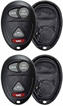 KeylessOption Just the Case Keyless Entry Remote Control Car Key Fob Shell Replacement for L2C0007T (Pack of 2)