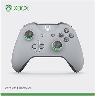 Xbox ワイヤレス コントローラー (グレー / グリーン)