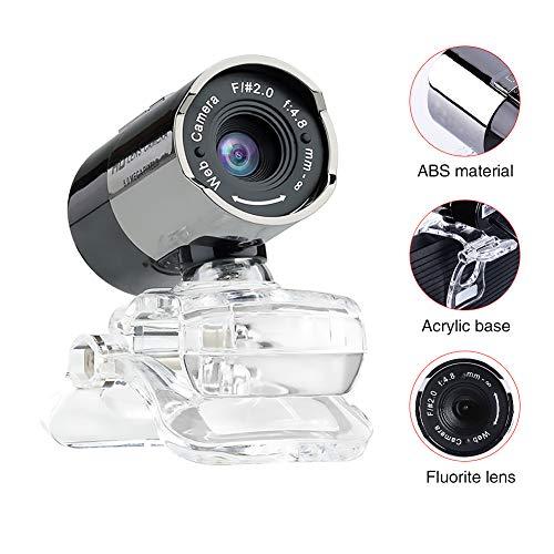 KXHWSH HD Webcam Mit Kopfhörern, Mikrofon mit Geräuschunterdrückung, Drive-Free USB Plug and Play, Kann für Online-Unterricht, Video-Chat, Regierungsbüro verwendet Werden
