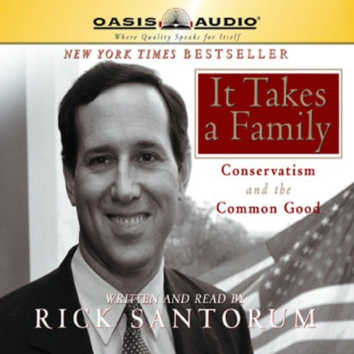 It Takes a Family audiobook cover art