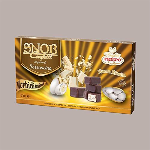 Lucgel Srl 500 gr Confetti Snob al Gusto di Torroncino con Mandorla per Cerimonia