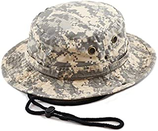 100% Cotton Stone-Washed Safari Wide Brim Foldable Double-Sided Sun Boonie Bucket Hat