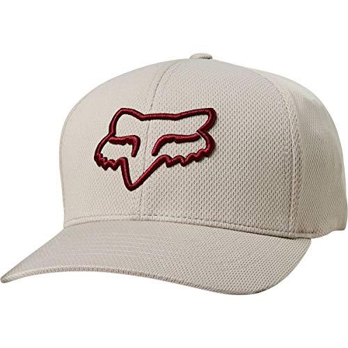 Fox Racing Lithotype Flexfit - Gorra de béisbol para Hombre, Hombre, 21976, Gris, S-M