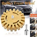 4EVERHOPE 4 Pulgadas 20 MM Decal Eraser Wheel Decal Eraser para el Coche Decal Remover Vinilo Sticker Decal Pinstripe Remoción Herramientas de Pulido