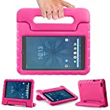 SIMPLEWAY Onn 8inch Kids Case, Lightweight Kid-Proof Handle Stand Cover Compatible with Walmart Onn 8inch Tablet (Model ONA19TB002) 2019 Released (Rose)
