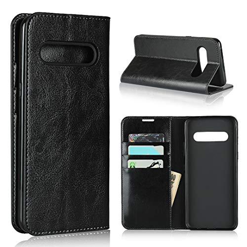 Hülle® Brieftasche Flip Handyhülle Kompatibel für LG V60 ThinQ 5G(Muster 1)
