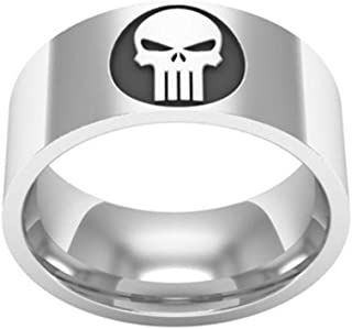 2017 Super Skull Punisher Ring Stainless Steel for Men and Women Rings